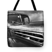 Rusty Ford 1942 Black And White Tote Bag