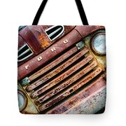 Rusty Ford Grill Tote Bag