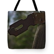 Rusty Hasp   #0005 Tote Bag