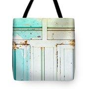 Rusty Hinges Tote Bag