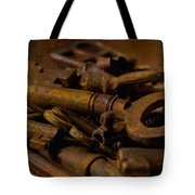 Rusty Keys Tote Bag