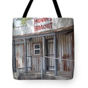 Rusty Metal Architecture Tote Bag