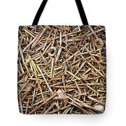 Rusty Nails Tote Bag
