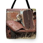 Rusty Old Chevy Tote Bag