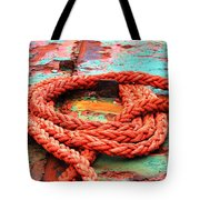 Rusty Old Ship Tote Bag