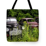 Rusty Old Transportation Tote Bag