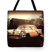 Rusty Oldsmobile Tote Bag