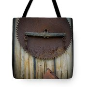Rusty On The Wall Tote Bag