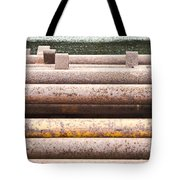 Rusty Pipes Tote Bag