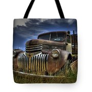 Rusty Relic Tote Bag by Tony Baca