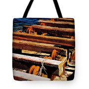 Rusty Remains Tote Bag