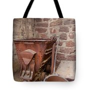 Rusty Ruins In Jerome Arizona Tote Bag