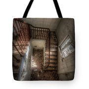 Rusty Stairs Tote Bag