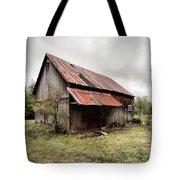 Rusty Tin Roof Barn Tote Bag