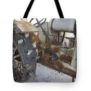 Rusty Tractor Tote Bag