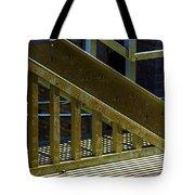 Rusty Triangle Tote Bag