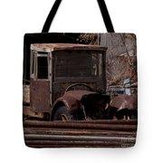 Rusty Truck   #1049 Tote Bag