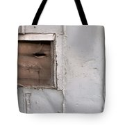 Rusty Vent Face Tote Bag