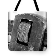 Rusty Vintage Pipe Wench Tote Bag