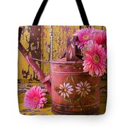 Rusty Watering Can Tote Bag