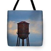 Rusty Watertower Tote Bag