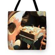 Rusty Wheel Gear Tote Bag