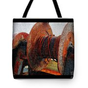 Rusty Winch  Tote Bag