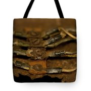 Rusty Wires Tote Bag