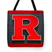 Rutgers Block R Tote Bag