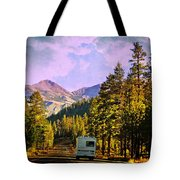 Rv And See America Tote Bag
