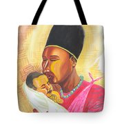 Rwandan Maternal Kiss Tote Bag