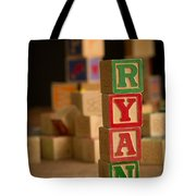 Ryan - Alphabet Blocks Tote Bag