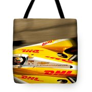 Ryan Hunter-reay Tote Bag by Denise Dube
