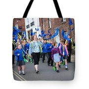 Rye Olympic Torch Parade Tote Bag
