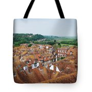 Rye Town Roofs Tote Bag