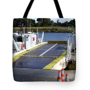 Ryer And Grand Island Ferry Tote Bag