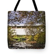 Ryot Covered Bridge And Stream Tote Bag