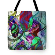 Rythem Of Change Tote Bag