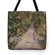 S. Dyer Neck Rd. - Art By Bill Tomsa Tote Bag