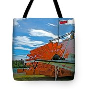 S S Klondike On Yukon River In Whitehorse-yt Tote Bag