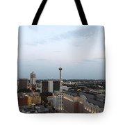Sa Skyline Go Spurs Go 2013 Tote Bag