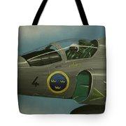 Saab Viggen Gruppo 4 Cockpit Tote Bag