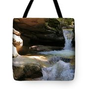 Sabbaday Falls Gorge Tote Bag