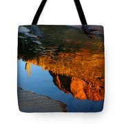 Sabino Canyon Reflection Tote Bag