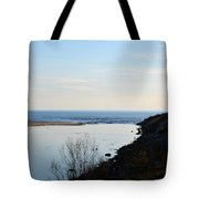Sable Meets Lake Michigan Tote Bag