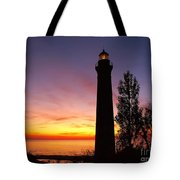 Sable Point Sunset Tote Bag