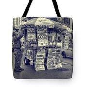 Sabrett Vendor New York City Tote Bag