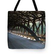 Saco River Covered Bridge Nh Tote Bag