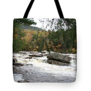 Saco River Rapids North Conway I Tote Bag