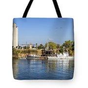 Sacramento River Scene Tote Bag
